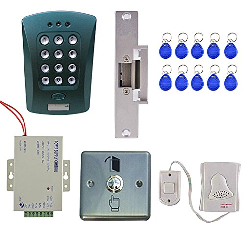 Dovewill ID Card Password System Home Security System Entrance Safety by Dovewill