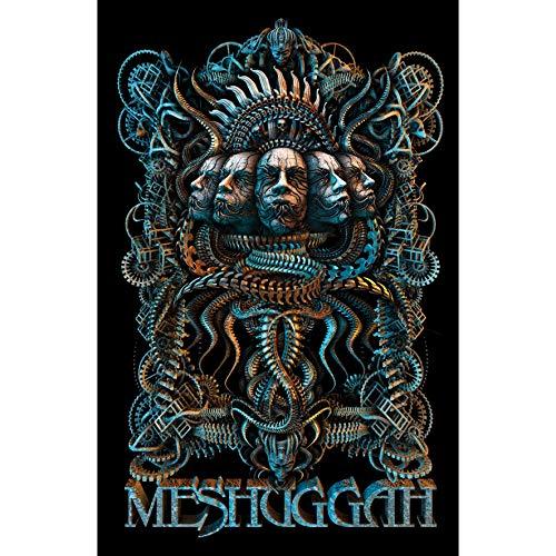 Meshuggah Fabric Poster Flag - 5 Faces