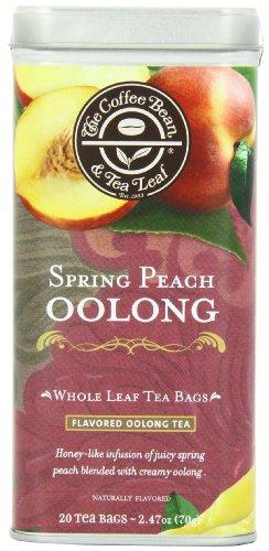 The Coffee Bean and Tea Leaf Tea, Spring Peach Oolong, 20 Count