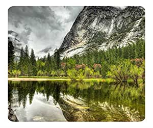 Decorative Mouse Pad Art Print Landscape and Plants Mountain Landscape Hdr by runtopwell
