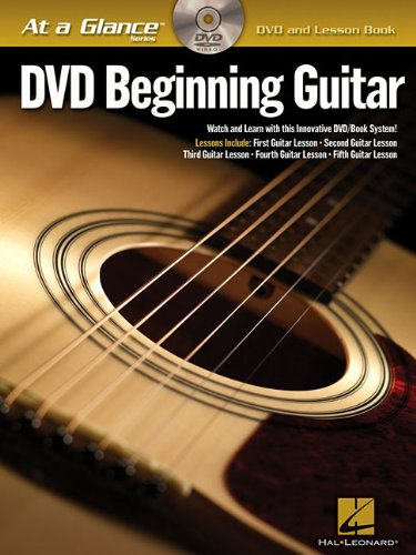 (Beginning Guitar: DVD/Book Pack (At a Glance))