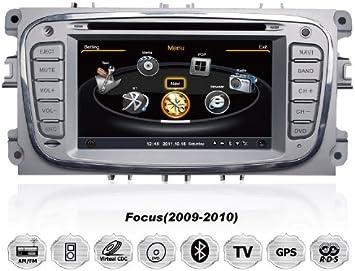 Ford Mondeo Focus C-max S-Max OVAL para instalación de radio para coche reproductor de