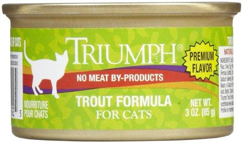 Triumph Adult Can Cat Food Case 3oz Trout, My Pet Supplies