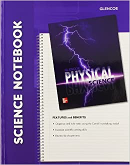 ??TOP?? Glencoe Physical Science, Science Notebook, Student Edition. parar error sociedad Fecha minutes Casual webcast