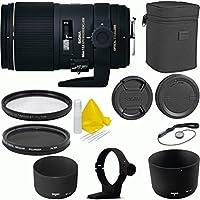 Sigma 150mm f/2.8 EX DG OS HSM APO Macro Deluxe Lens Kit For Canon