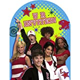 : High School Musical, Party Invitations. 8 Pcs