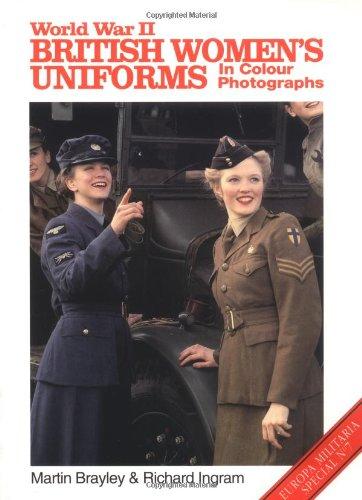 Download World War II British Women's Uniforms (Europa Militaria Special, 7) pdf epub