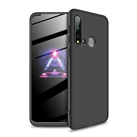 YFXP Huawei Nova 5i Funda - Funda Huawei Nova 5i 360 Grados Integral para Ambas Caras + Cristal Templado, Luxury 3 in 1 PC Hard Skin Carcasa Case ...