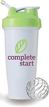 Completa Start licuadora botella para Instant desayuno Shake – Best, Orgánica saludable comida Reemplazo – sin gluten, sin leche, – Bebida con sabor en Baja hidratos, alta proteína y marrón: Amazon.es: Deportes