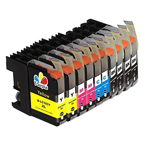 Model Cartridge Inkjet Magenta (TS 10PK Compatible Ink Cartridges for B - LC103 XL (4 Black, 2 Yellow, 2 Magenta, 2 Cyan) for Multifunction Printers MFC-J4310DW MFC-J4410DW MFC-J4510DW MFC-J4610DW MFC-J4710 MFC-J470DW MFC-J475DW MFC-J870DW MFC-J875DW)