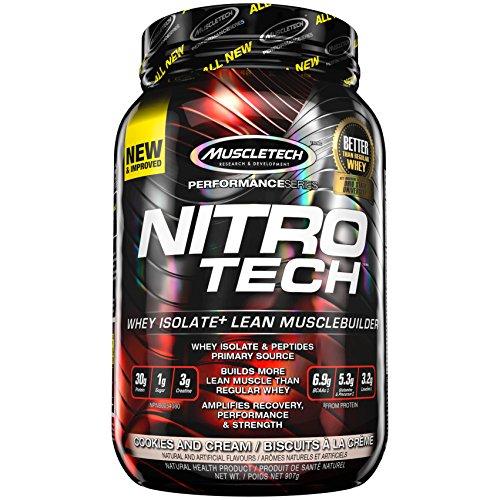 - Muscletech Nitro Tech, Cookies And Cream, 2 lb