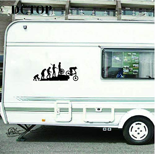 YuanMinglu Pegatinas interesantes de la evolución Bicicleta de ...
