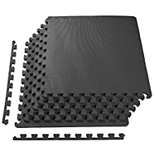 BalanceFrom Puzzle Exercise Mat with High Quality EVA Foam Interlocking Tiles
