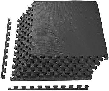 BalanceFrom Puzzle Exercise Mat w/ EVA Foam Interlocking Tiles
