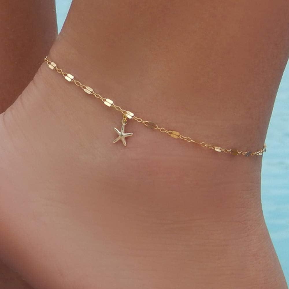 KUUCOL Star Foot Bracelet...