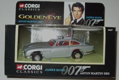 Aston Martin Replica - Corgi JAMES BOND 007 ASTON MARTIN DB5 Goldeneye Diecast