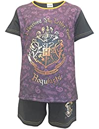 Harry Potter Letter Big Girls Shortie Pajamas