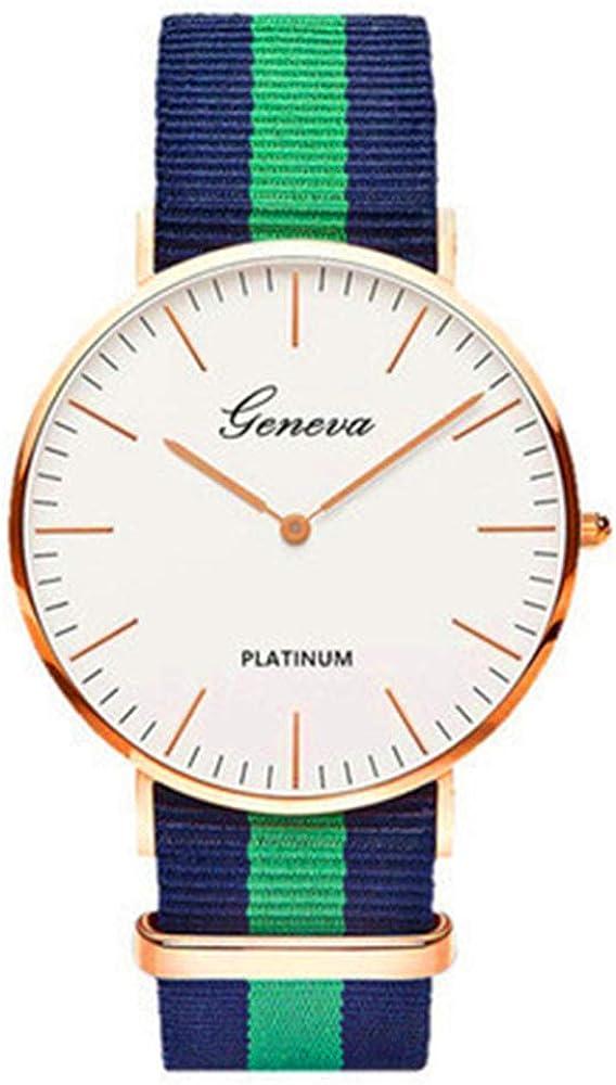 Correa de Nylon Estilo Reloj de Cuarzo para Mujer Relojes de primeras Marcas Moda Casual Reloj de Pulsera 2020 Moda Relojes de Mujer
