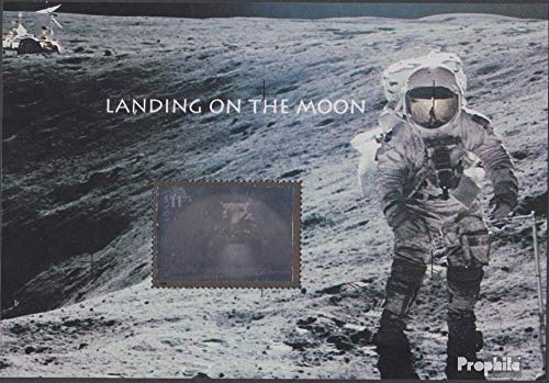 U.S. block53 (Complete.Issue.) 2000 Manned Moon Landing (Stamps for Collectors) Space