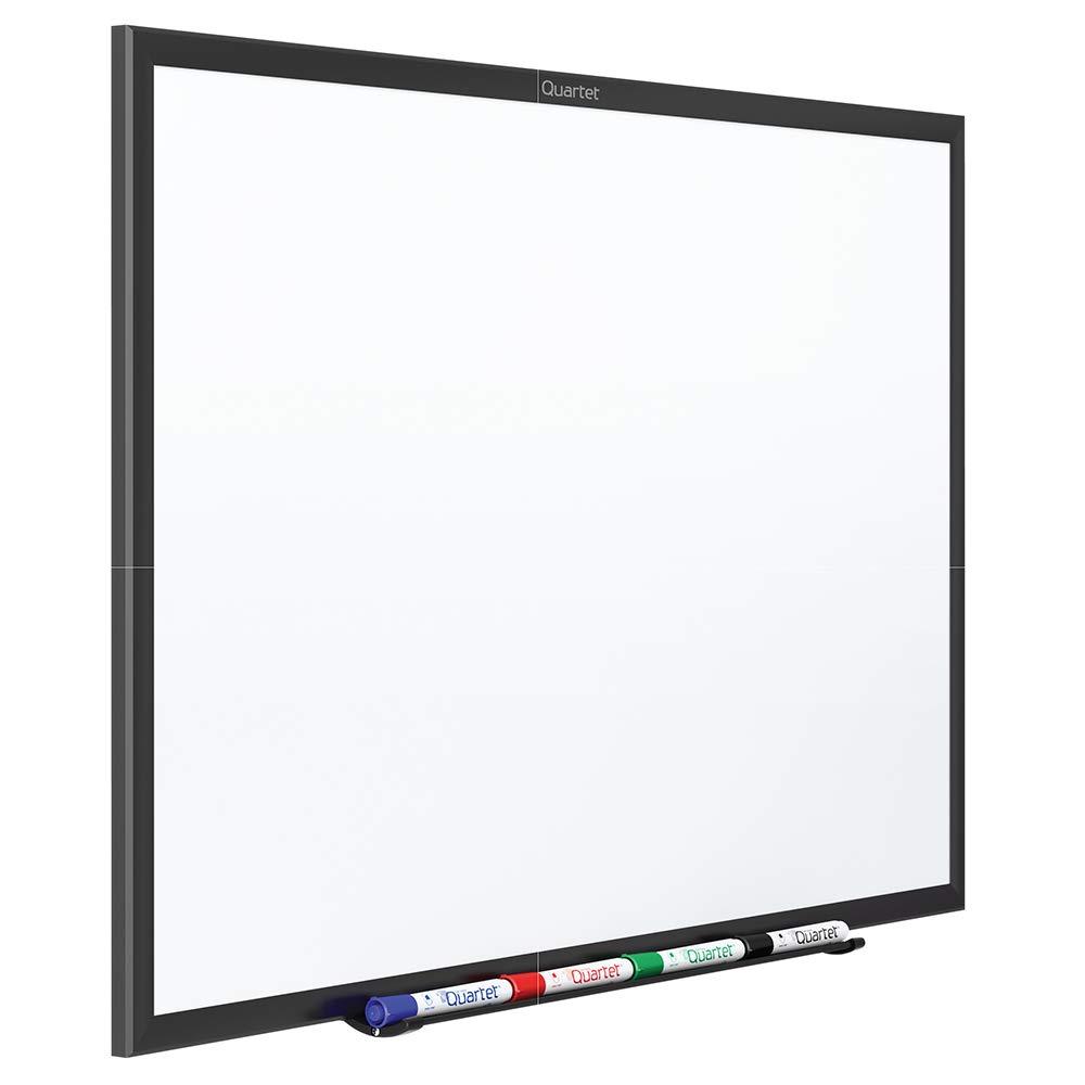 Quartet Magnetic Whiteboard, Standard, 5 X 3', Aluminum Frame, Silver (SM535B) 5 X 3'