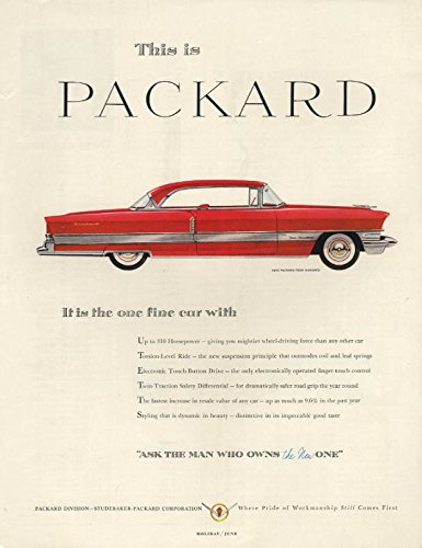 It is the one fine car Packard Four Hundred 2-door for sale  Delivered anywhere in USA