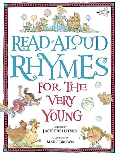Read Aloud Rhymes Very Young Prelutsky product image