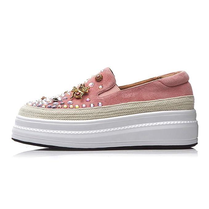 YAN Zapatos de Plataforma de Las Mujeres 2019 nuevos Zapatos para ...