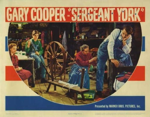 York Poster Sergeant - Sergeant York POSTER Movie (11 x 14 Inches - 28cm x 36cm) (1941) (Style D)