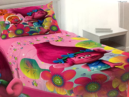 Princess Poppy Troll Comforter Twin