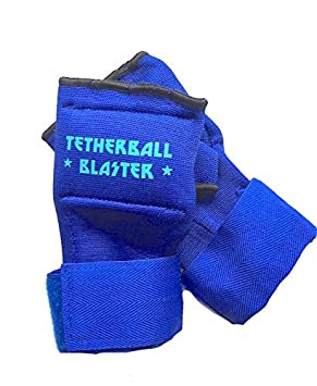 Starfish Wishes Tetherball Accessory - TETHERBALL BLASTER GLOVES, Kids, Playground, School, PE Game, Sports, Comfort, Padded knuckles, side of hand for protection/maximum power playing ball