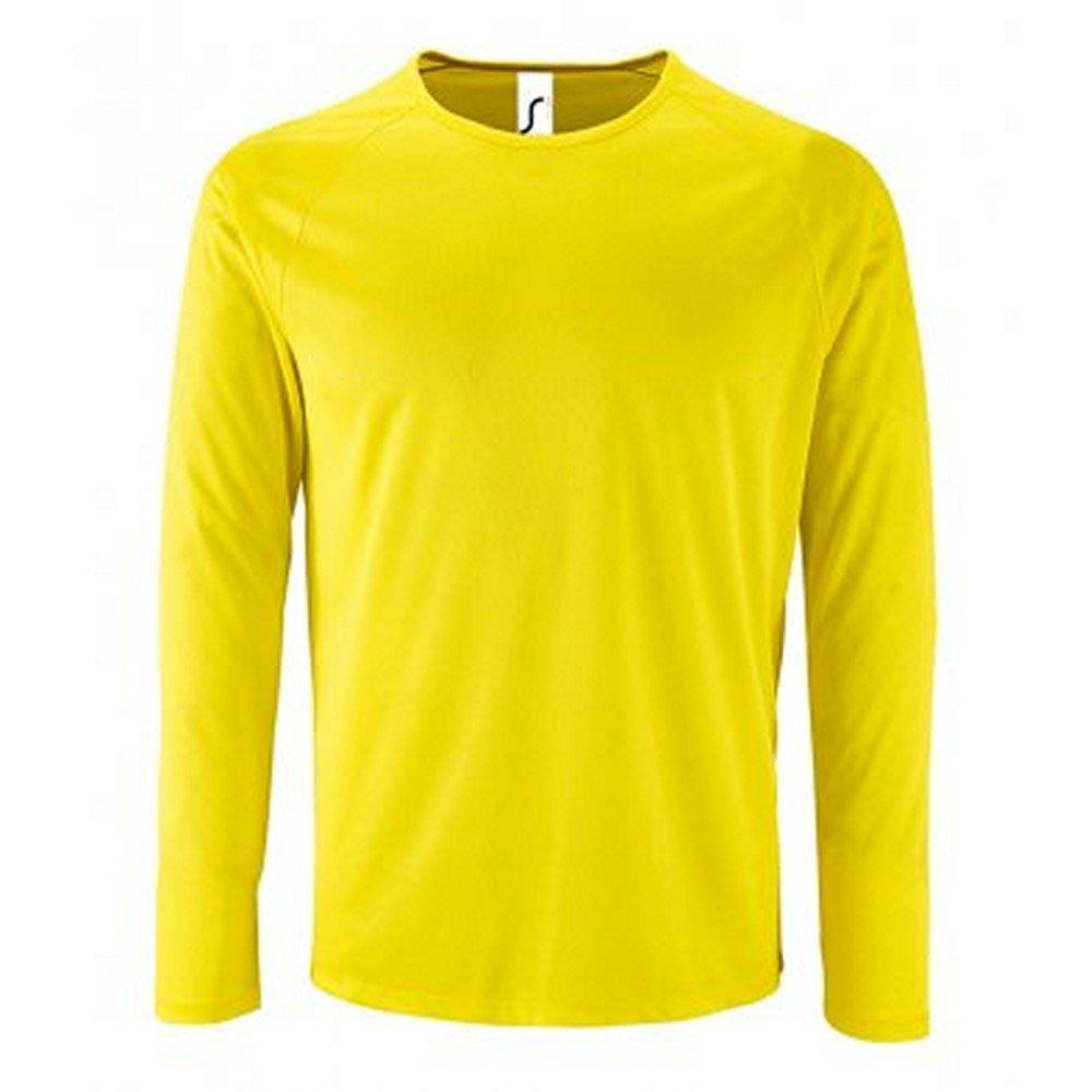 T-Shirt /à Manches Longues Performance SOLS Homme