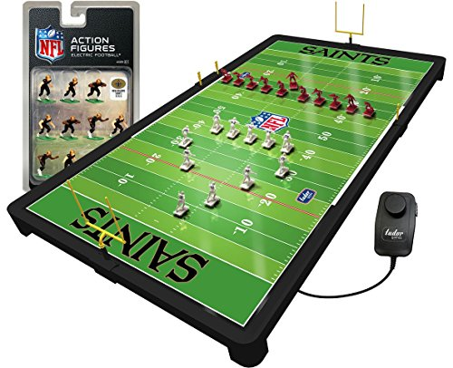 - New Orleans Saints NFL Deluxe Electric Football Game