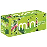 Mountain Dew Soda, 7.5 Ounce Mini Cans, 10 Pack