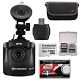 Transcend DrivePro 230 1080p HD Wi-Fi GPS Car Dashboard Video Camera with Suction Cup & 16GB Card + Case + Reader + Kit Review