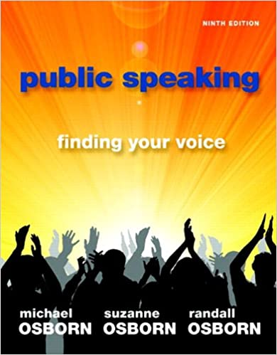 9780205778447: public speaking: finding your voice abebooks.