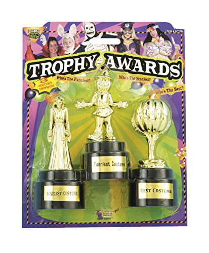 Forum Novelties Halloween Costume Trophy Awards, 3-Pack for $<!--$7.95-->