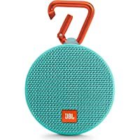 JBL Clip 2 Portable Bluetooth Speaker (Teal)