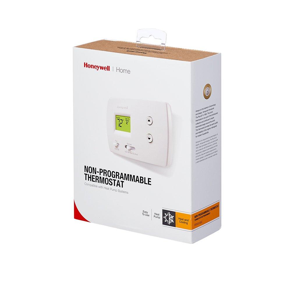 Honeywell Rth3100c Digital Heat Cool Pump Thermostats Rth8500d Wiring Diagram Accessories Amazon Canada