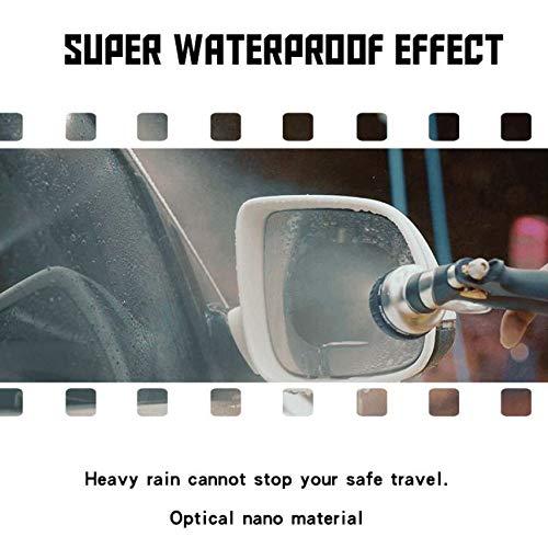 TOOGOO 2PCS Rainproof Car Rearview Mirror Waterproof Anti Fog Rain Proof Coating Film Covers rain Blades Sticker by TOOGOO (Image #2)