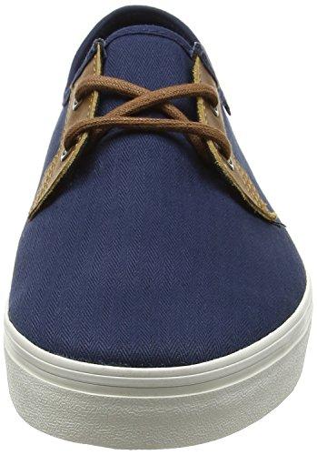 Vans Mn Michoacan Sf, Zapatillas para Hombre Azul (Herringbone Twill Dress Blues)