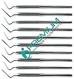 10 Pcs Dental Root Canal Spreader D11 & 2s Professional Endodontic Instruments