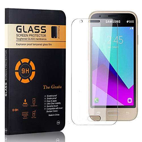 The Grafu Displayschutzfolie für Galaxy J1 Mini Prime, Anti Fingerabdruck, 3D Touch, Ultra klar Hart Schutzfilm aus Gehärtetem Glas für Samsung Galaxy J1 Mini Prime, 3 Stück