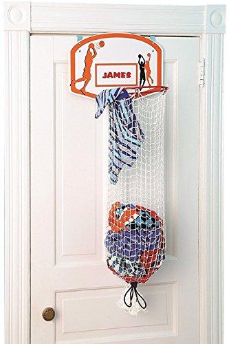 Over-The-Door Basketball Hamper