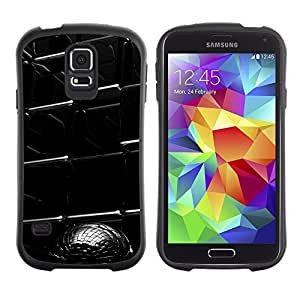 LASTONE PHONE CASE / Suave Silicona Caso Carcasa de Caucho Funda para Samsung Galaxy S5 SM-G900 / Abstract Cube