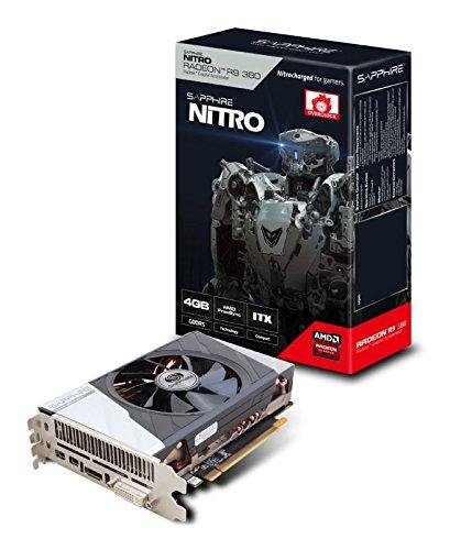 Sapphire Radeon R9 380 4GB GDDR5 ITX Compact, Tarjeta ...