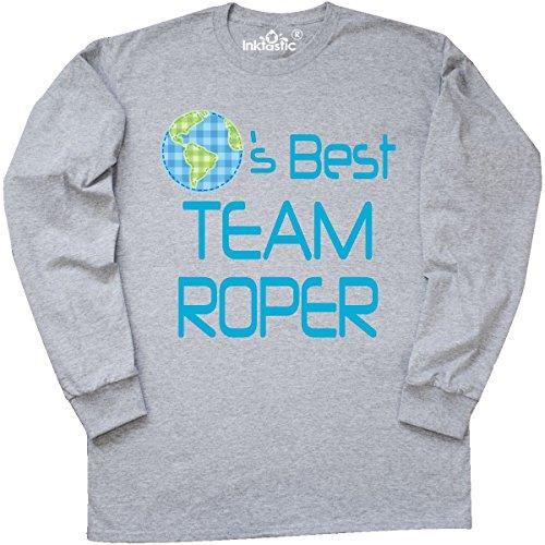 inktastic - Team Roper Planets Long Sleeve T-Shirt Medium Athletic Heather 1ca0d