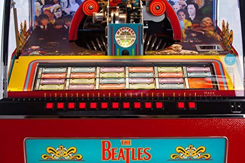Beatles SGT. Pepper's Vinyl Bluetooth Jukebox - Holds 70 45RPM Vinyl Records