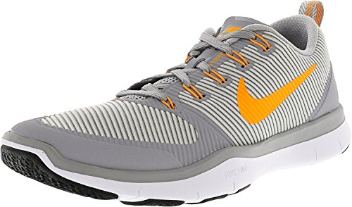 Nike Men's 833258-004 Fitness Shoes Grey (Wolf Grey / Bright Citrus-white-black) K6pTl