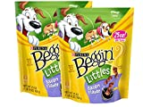 Purina Beggin' Littles Bacon Dog Treats, 25 oz. Pouch (Pack of 2)