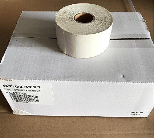 Tor Rey Blank Standard Original Label PLS-40L for LSQ-40L Scale,10 roll/ Case,1500/Roll / 2.2'' W X 1.57'' H by TORREY (Image #2)